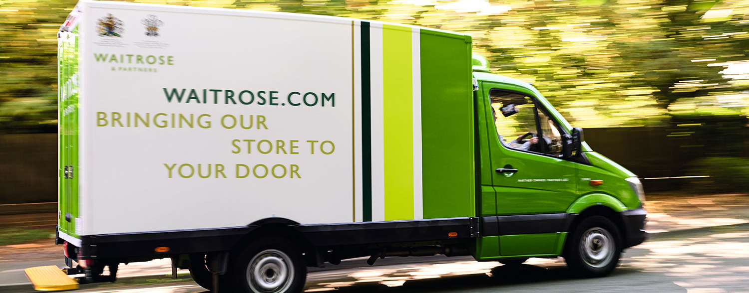Waitrose & Partners Delivery Van image
