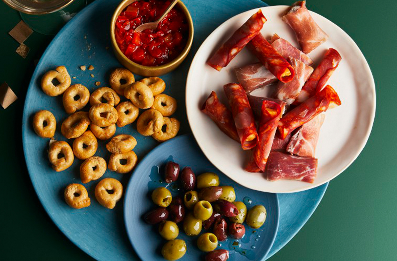 Image of Christmas Involtini Platter