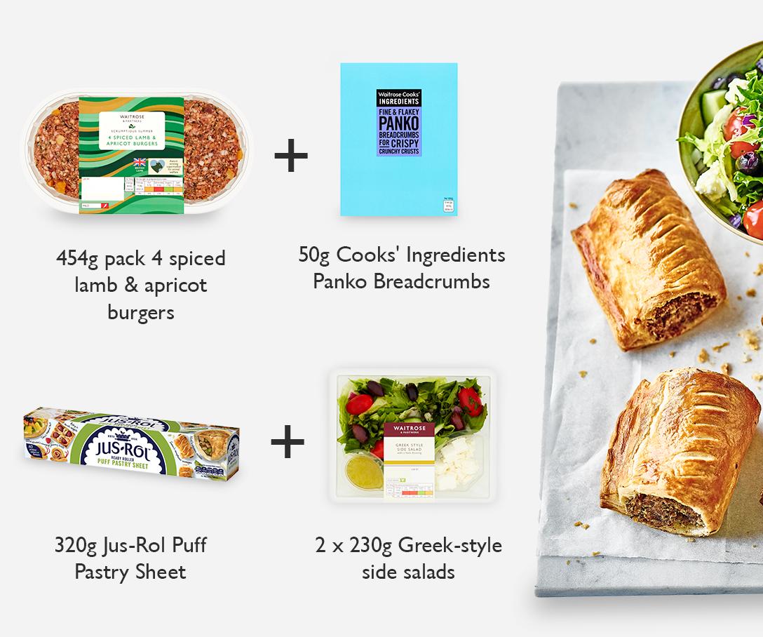 Meal Maths - Spiced lamb sausage rolls