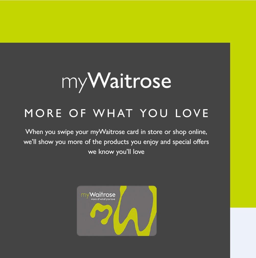 myWaitrose Card