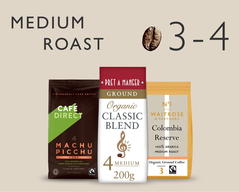 Image of Medium Roast coffee