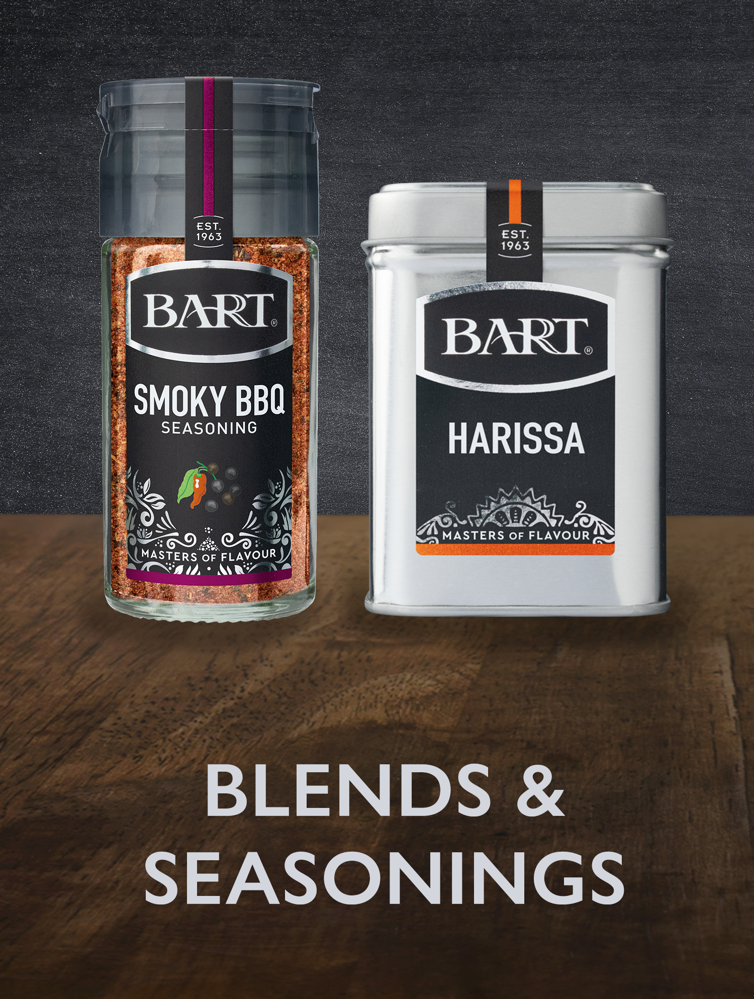Bart Blends & Seasonings