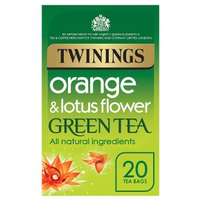Twinings Orange & Lotus Flower Green Tea 20 Bags