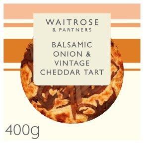 Waitrose Balsamic Onion & Vintage Cheddar Tart