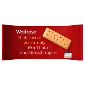 Waitrose shortbread fingers
