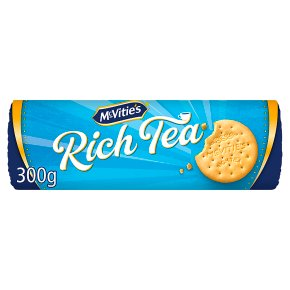 McVitie's rich tea biscuits