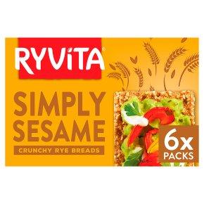 Ryvita Rye Bread Simply Sesame