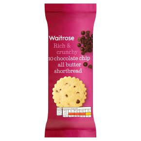 Waitrose Chocolate Chip All Butter Shortbread