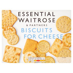 Essential Biscuits for Cheese