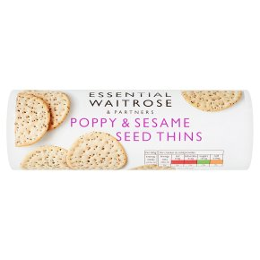 Essential Poppy & Sesame Seed Thins