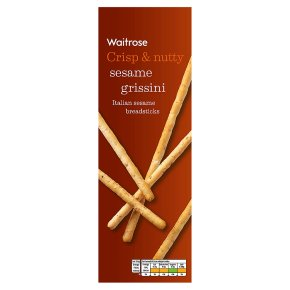 Waitrose grissini breadsticks sesame seed