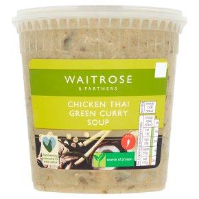 Waitrose Green Thai Chicken Soup