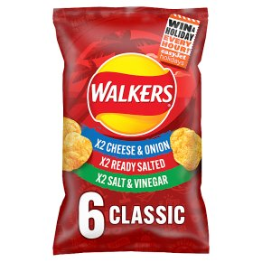 Walkers crisps classic variety pack