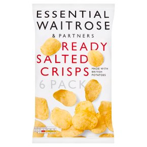 Essential Ready Salted Crisps