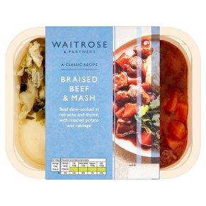 Waitrose Classics Braised Beef & Mash