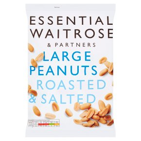 Essential Large Peanuts Roasted & Salted