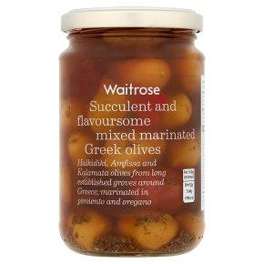 Waitrose Mixed Marinated Olives