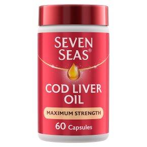 Seven Seas Cod Liver Oil Maximum Strength