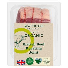 Duchy Organic British Beef Roasting Joint