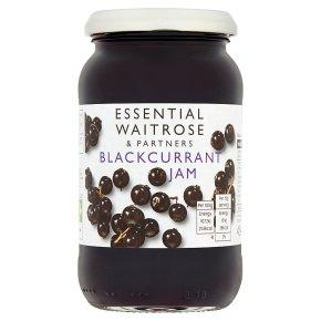 Essential Waitrose blackcurrant jam