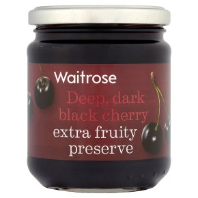 Waitrose black cherry conserve