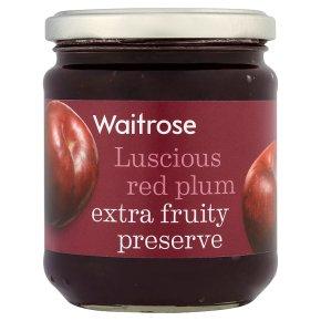 Waitrose Red Plum Preserve
