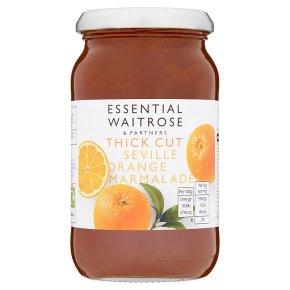 essential Waitrose marmalade sev orange thick