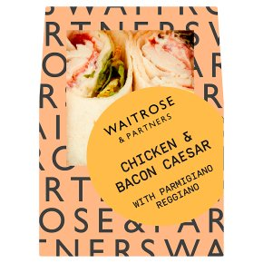 Waitrose Chicken & Bacon Caesar Wrap