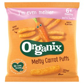 Organix Melty Baby Carrot Puffs