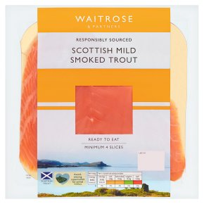 Waitrose Mild Smoked Trout