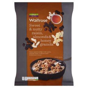 Waitrose Raisin, Almond & Honey Granola