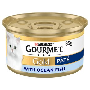 Gourmet Gold Paté with Ocean Fish