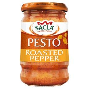 Sacla' Italia Roasted Pepper Pesto