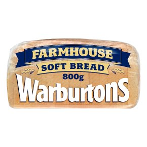 Warburtons soft white farmhouse sliced