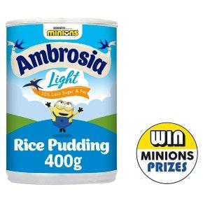 Ambrosia Light Rice Pudding
