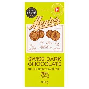 Menier Swiss Dark Chocolate
