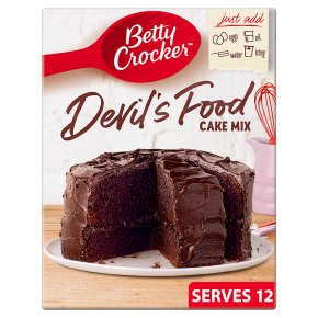 Betty Crocker Devil's Food Cake Mix
