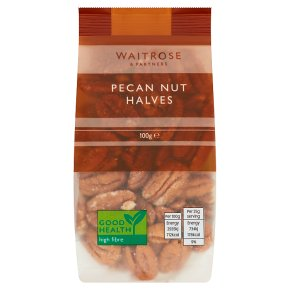 Waitrose pecan nuts halves