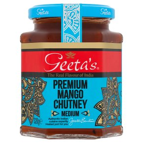 Geeta's premium mango chutney