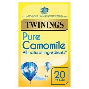 Twinings Pure Camomile Tea 20 Tea Bags