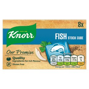 Knorr Fish Cube Gluten Free 8s