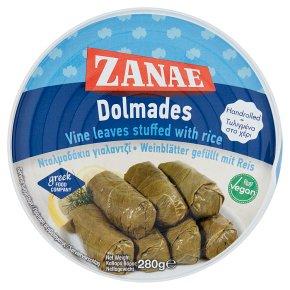Zanae stuffed vine leaves