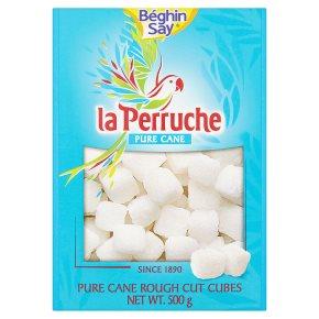 La Perruche Pure Cane Rough Cut Cubes White