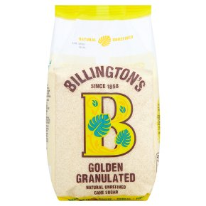 Billington's Golden Granulated Sugar
