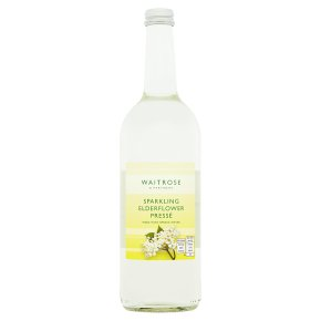 Waitrose Sparkling Elderflower