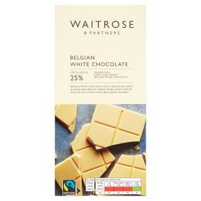Waitrose Belgian White Chocolate