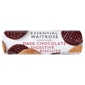 Essential Plain Chocolate Digestive Biscuits