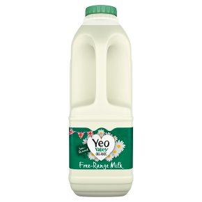 Yeo Valley fresh semi-skimmed milk