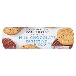 Essential Milk Chocolate Digestive Biscuits