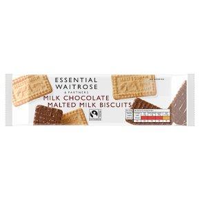 Essential Milk Chocolate Malted Milk Biscuits